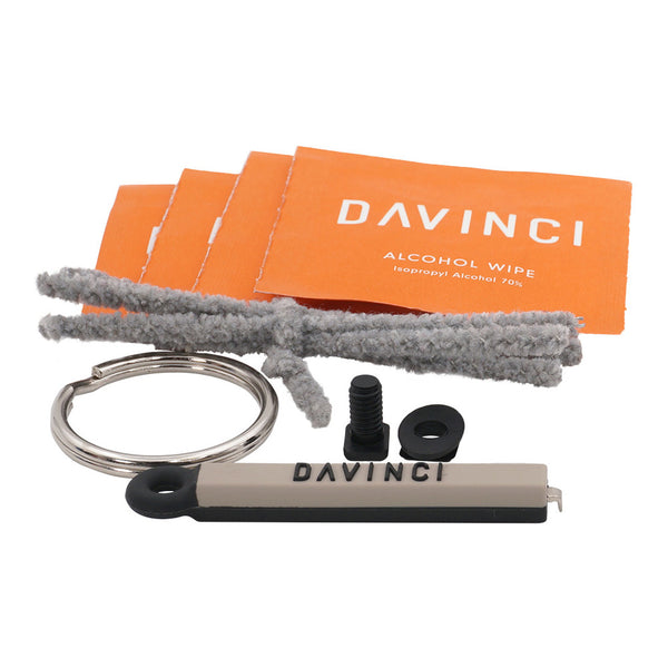 Set of tools for cleaning Davinci vape
