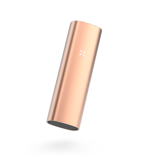 Front side of rose gold vape