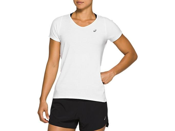Asics V-neck shirt Dames