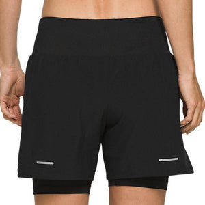 Asics 2 N 1 short Dames