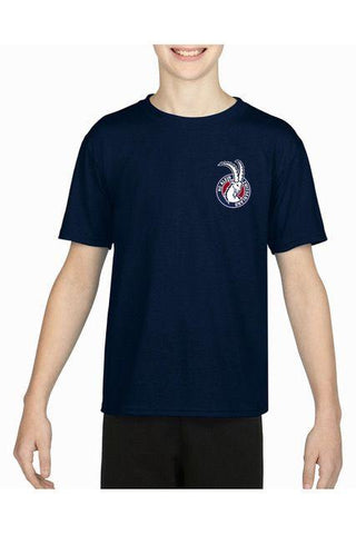 HCKZ performance Trainings Navy Tshirt KIDS