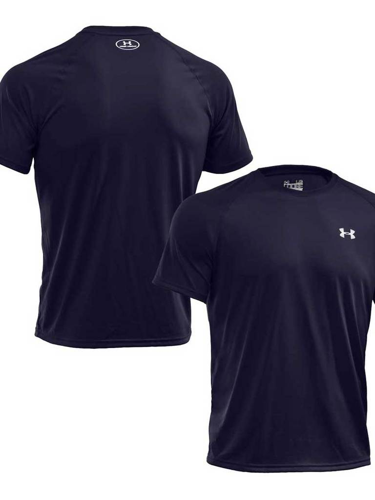 Under Armour Tech Shirt Navy - Dekker SportDekker Sport Den Haag Sportwinkel