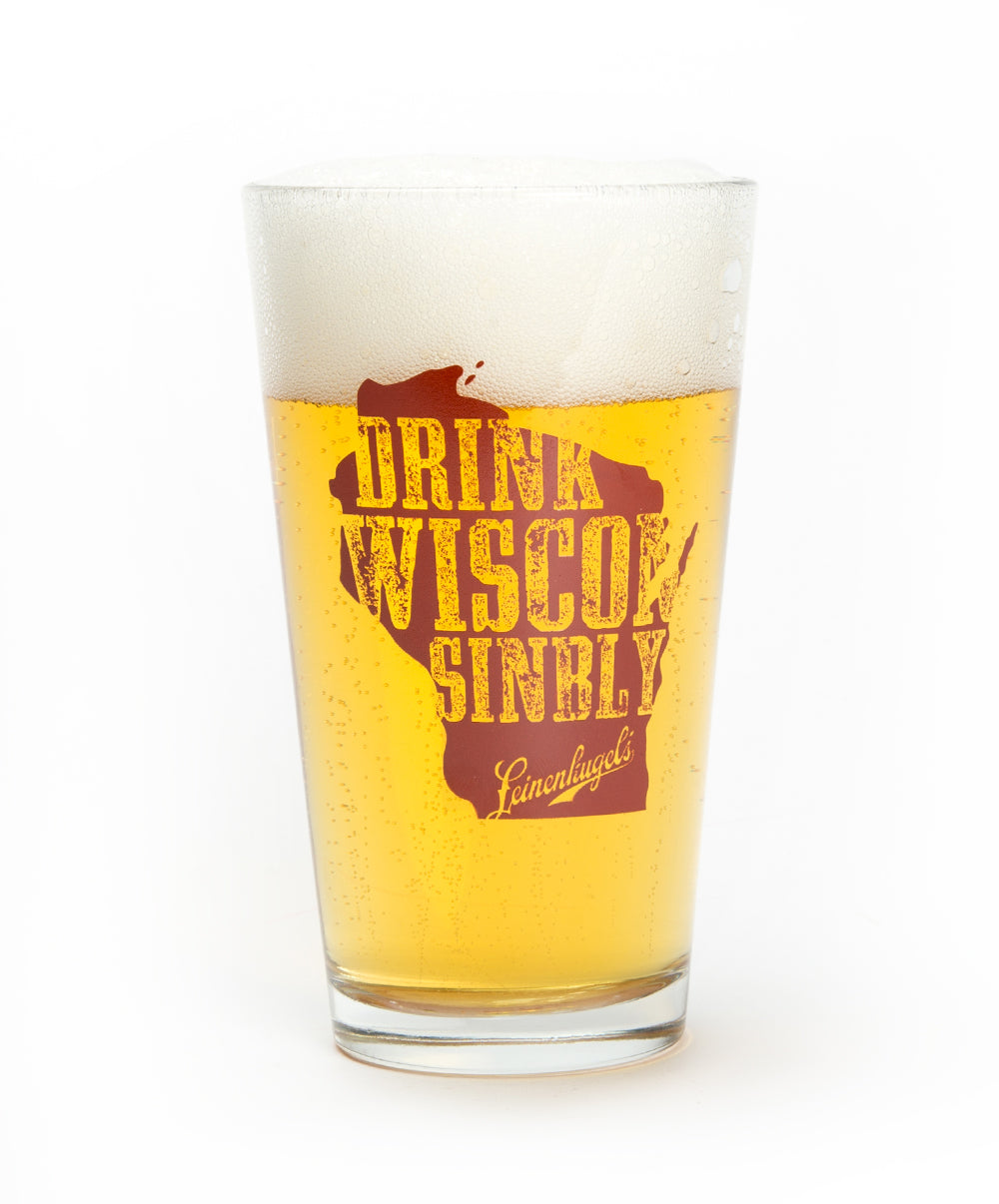 DRINK WISCONSINBLY PINT