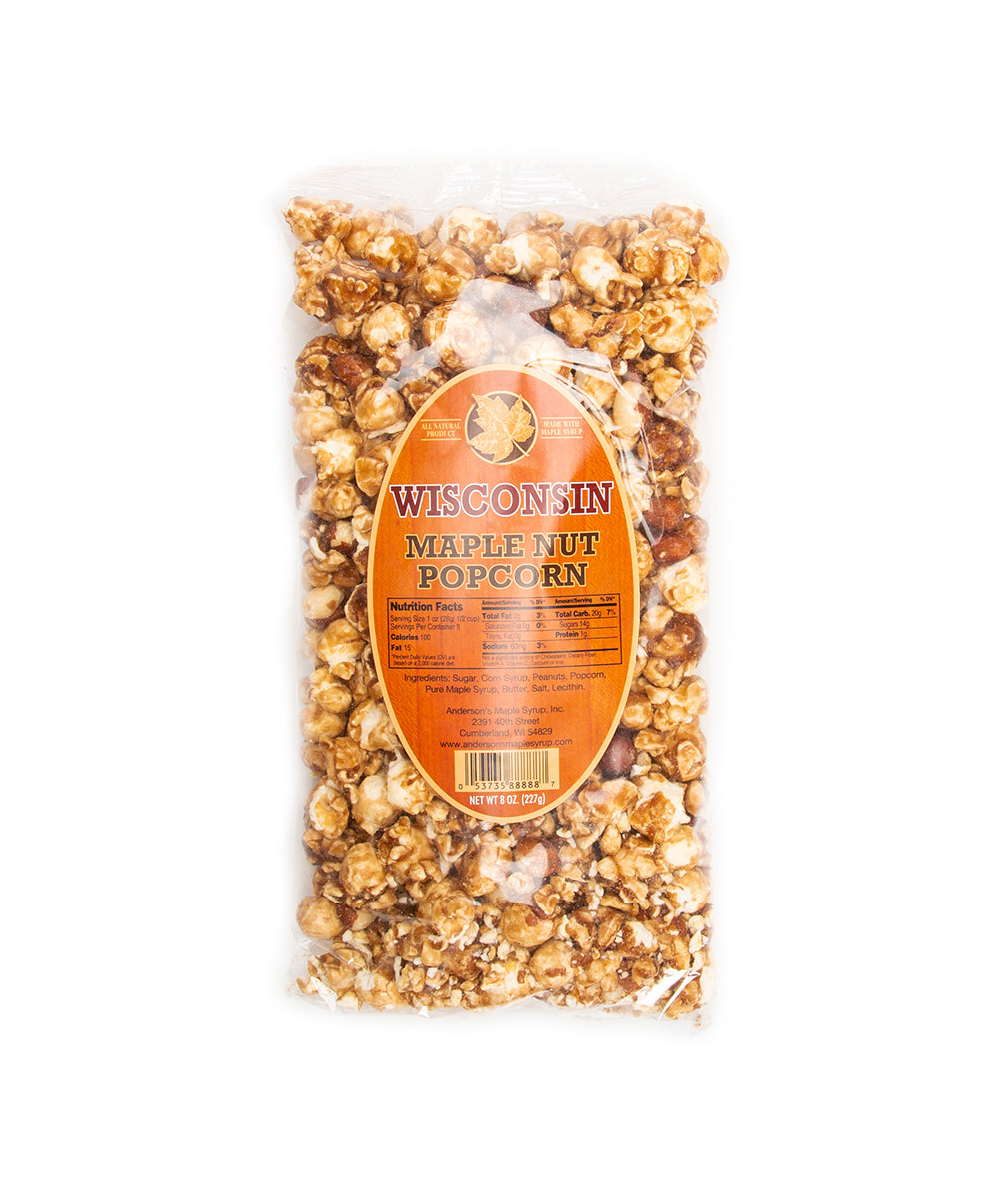 ANDERSON'S MAPLE NUT POPCORN