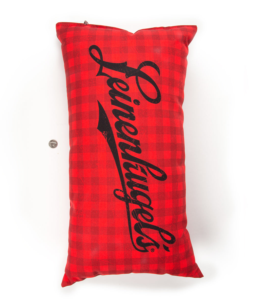 INDOOR/OUTDOOR PLAID PILLOW