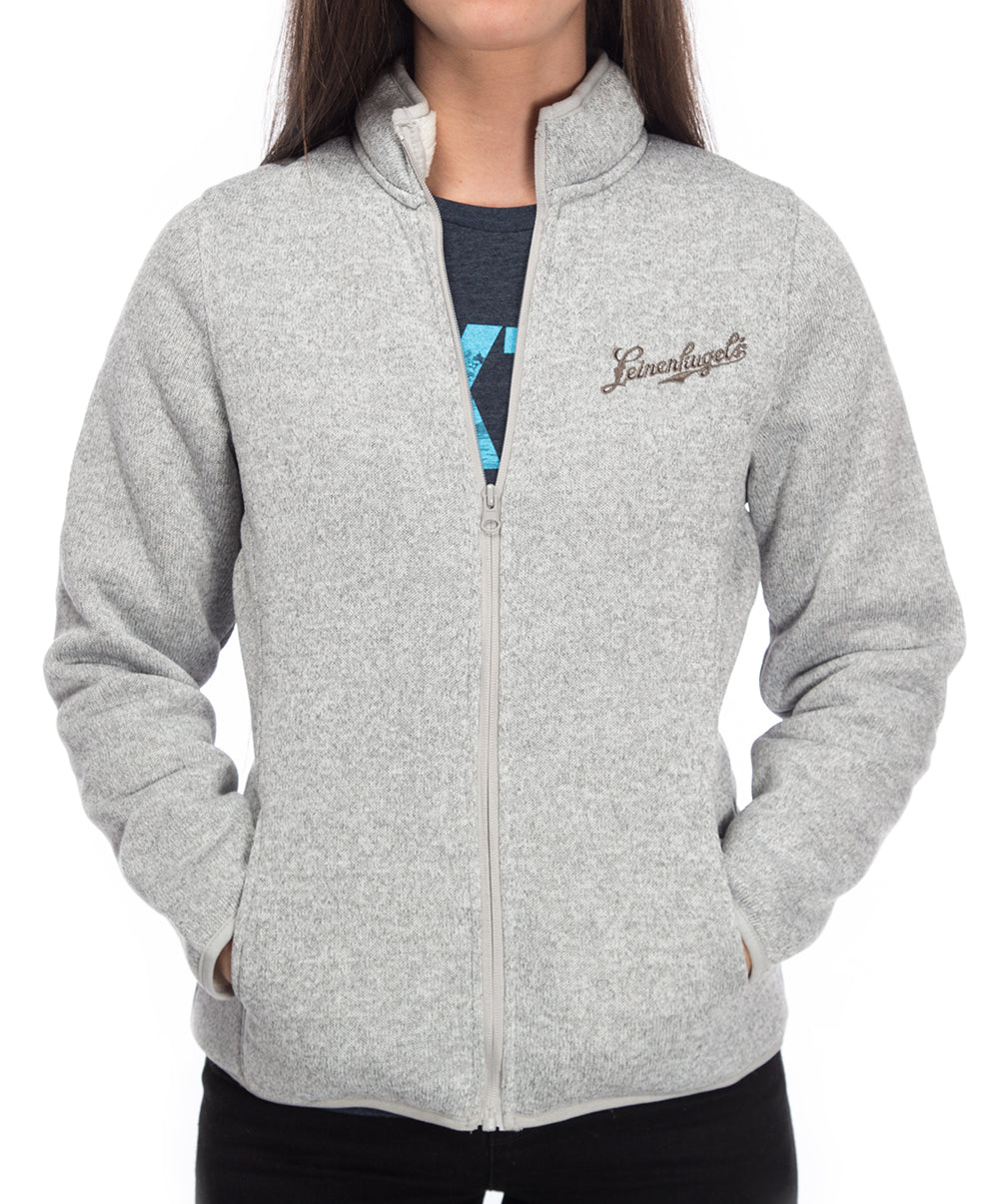 LADIES PAT FULL ZIP FLEECE