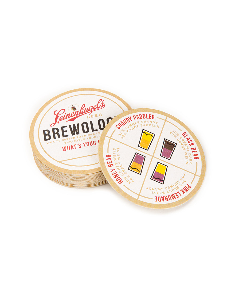 BREWOLOGY COASTER PACK