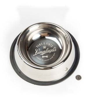"8.6"" STAINLESS STEEL DOG BOWL"