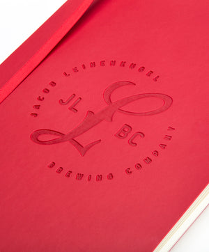 JLBC RED STAMPED JOURNAL