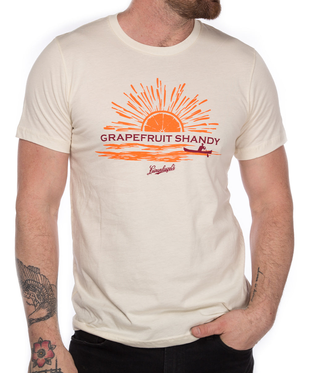 NATURAL GRAPEFRUIT SHANDY TEE