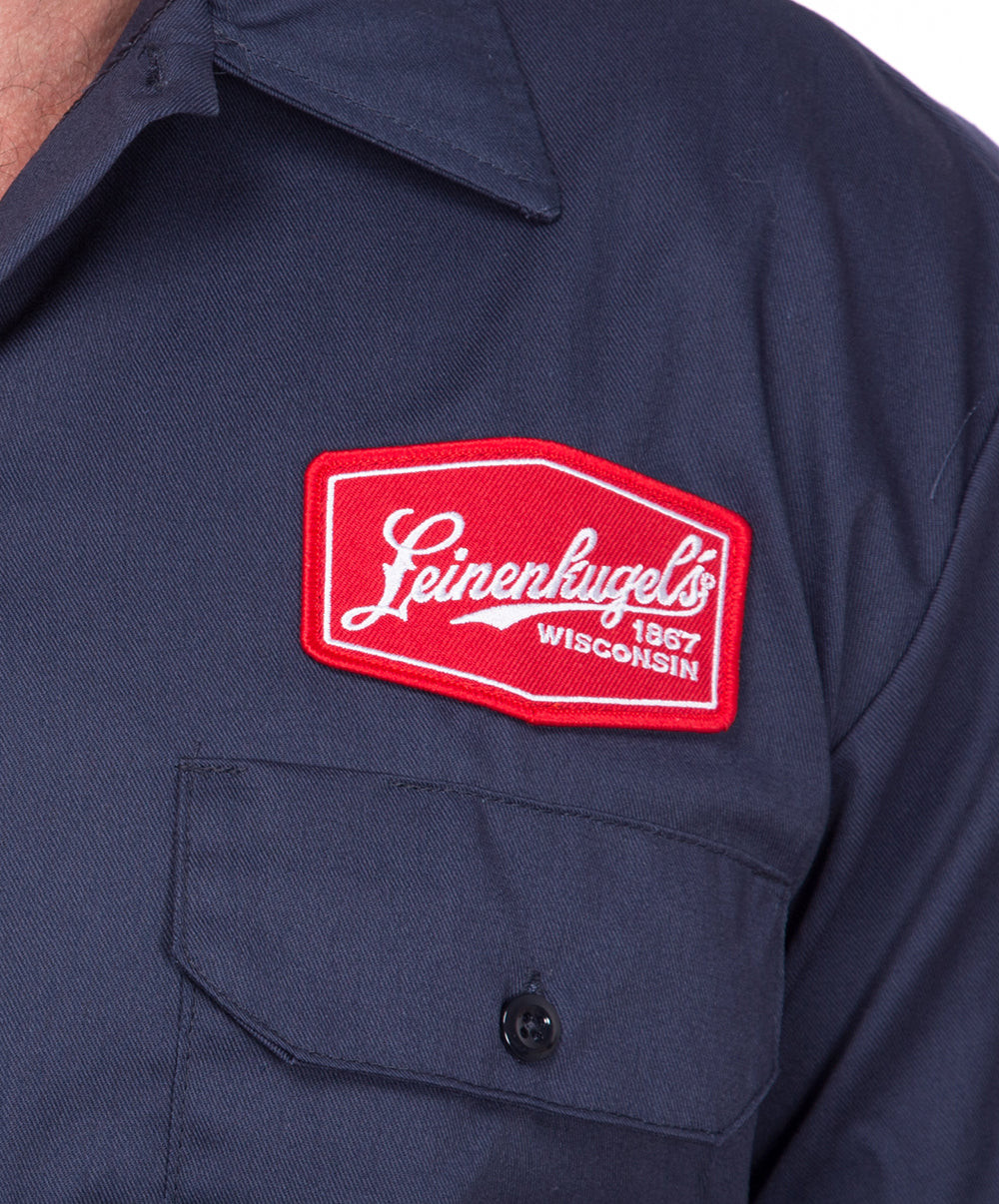 NORMAN PATCH WORK SHIRT