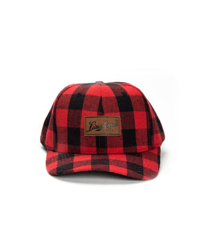 PLAID PATCH HAT