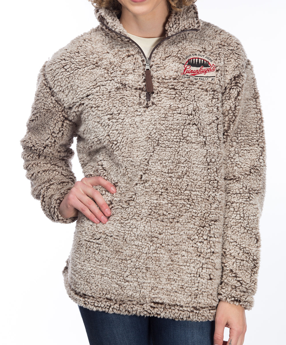 SHERPA QTR ZIP PULLOVER