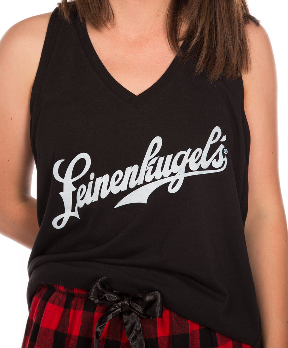 LADIES PLAID TANK/SHORT COMBO