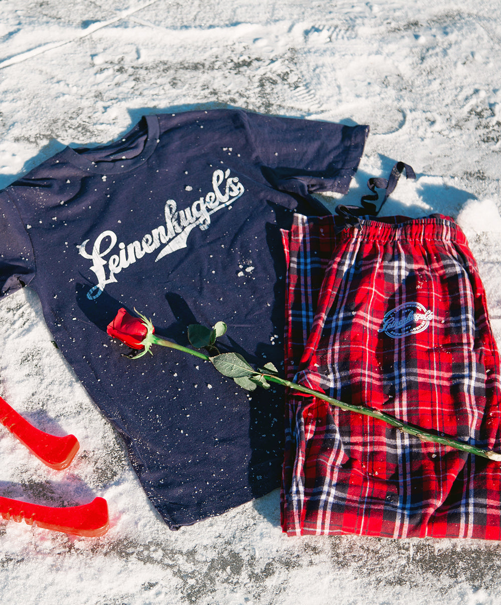 HOLIDAY FLANNEL PANT/TEE COMBO