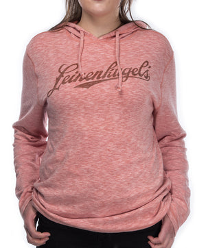 LADIES REED HOODED LS TEE