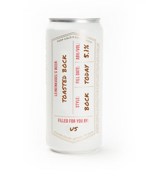 TOASTED BOCK CROWLER CAN