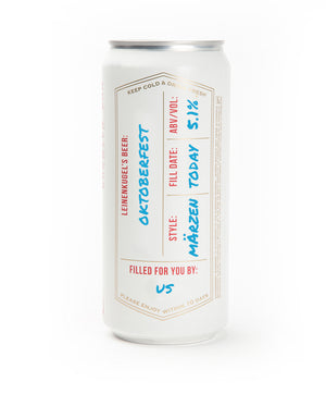 OKTOBERFEST CROWLER CAN