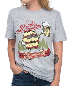 PATRICK DRINK WISCONSINBLY TEE