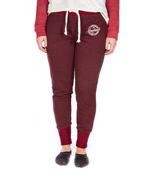 LADIES PRUNE TERRY JOGGER
