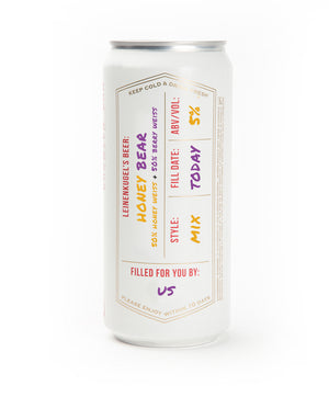 HONEY BEAR CROWLER CAN MIX