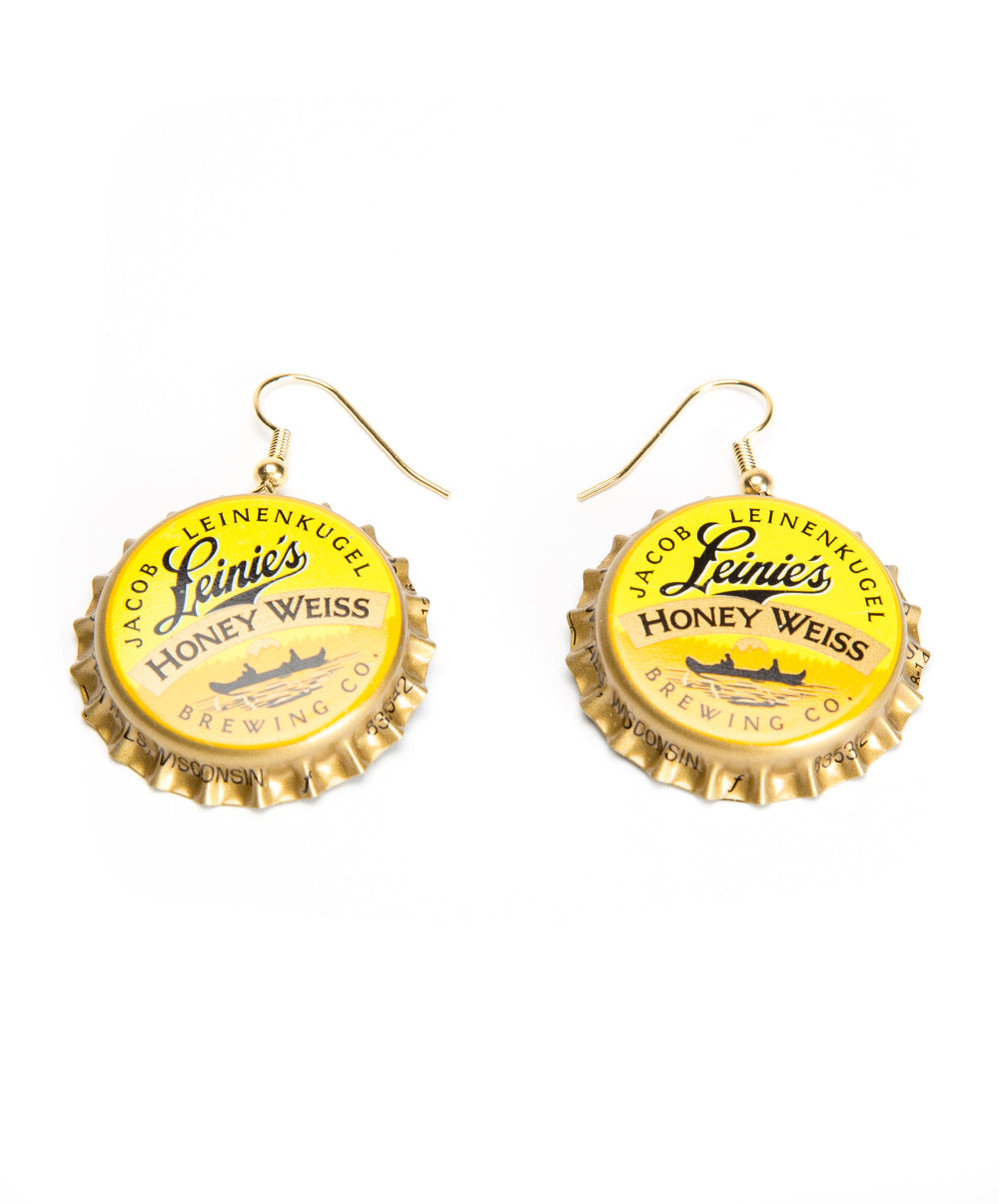 BOTTLECAP DANGLE EARRINGS