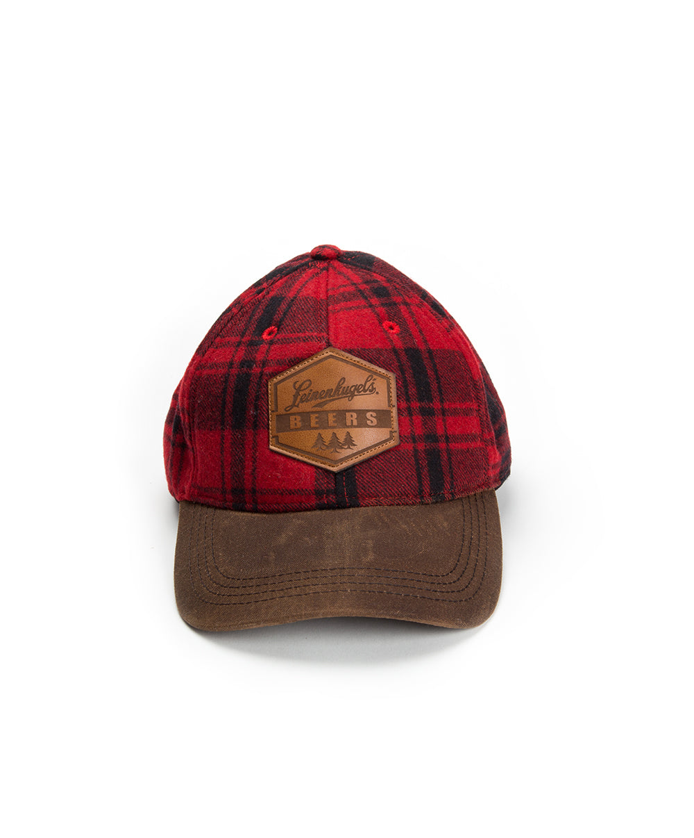 PAT PLAID WOOL HAT