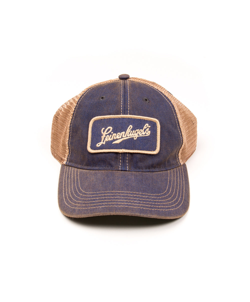 TRUCKER FAVORITE BLUE BALL CAP