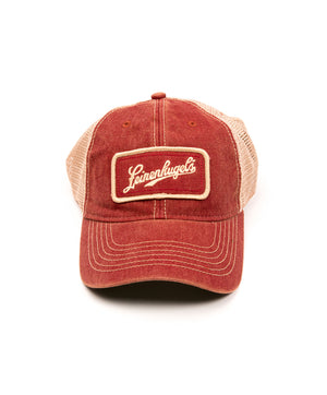 TRUCKER FAVORITE RED BALL CAP