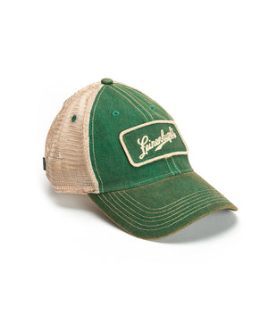 TRUCKER KELLY GREEN BALL CAP