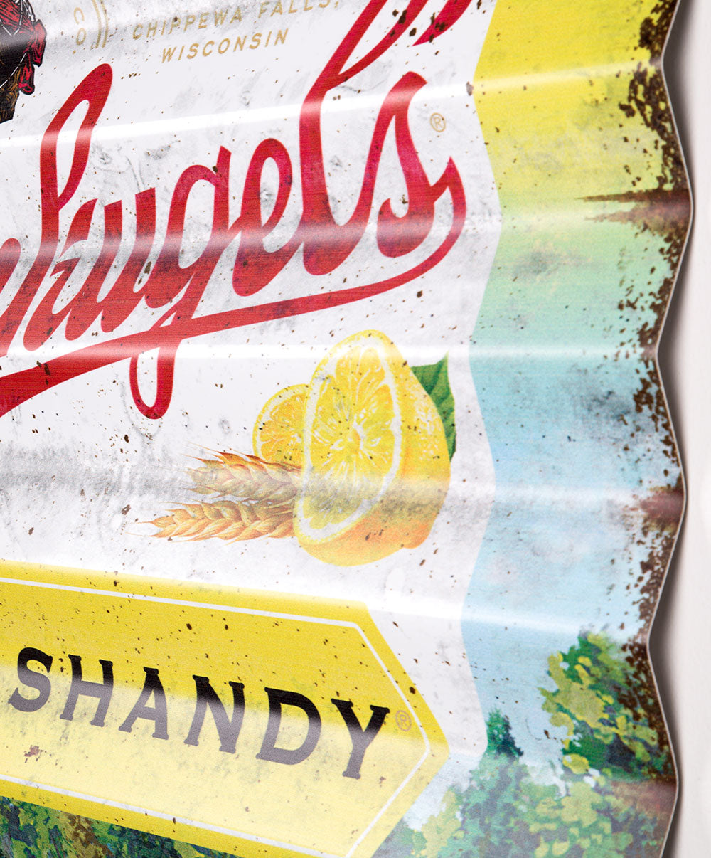 CORRUGATED SHANDY SIGN