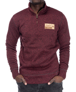 PRESTON SWEATER FLEECE QTR ZIP