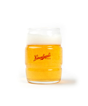16 OZ BARREL BEER GLASS