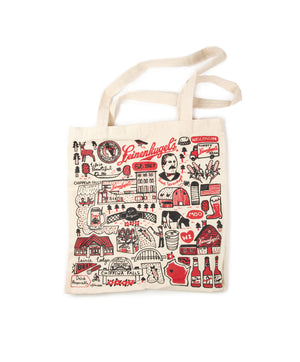LEINIE'S NATURAL CANVAS TOTE