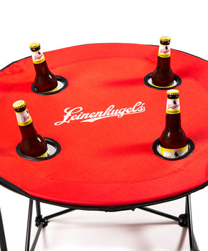 LEINENKUGEL TAILGATE TABLE