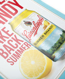 SUMMER SHANDY SIGN TACKER