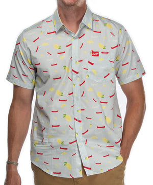LEINIE PRINT BUTTON DOWN SHIRT