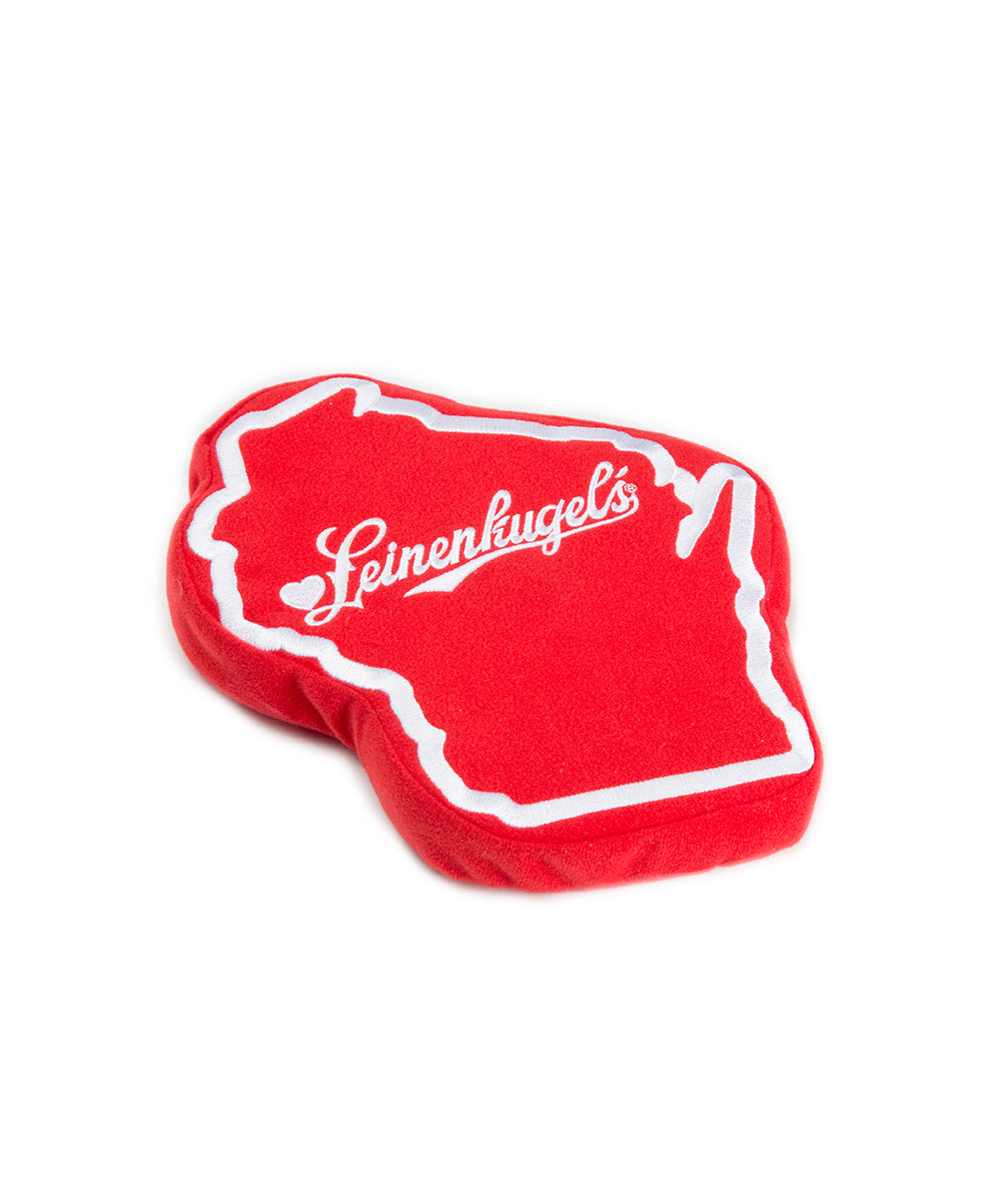 RED WISCONSIN PET TOY