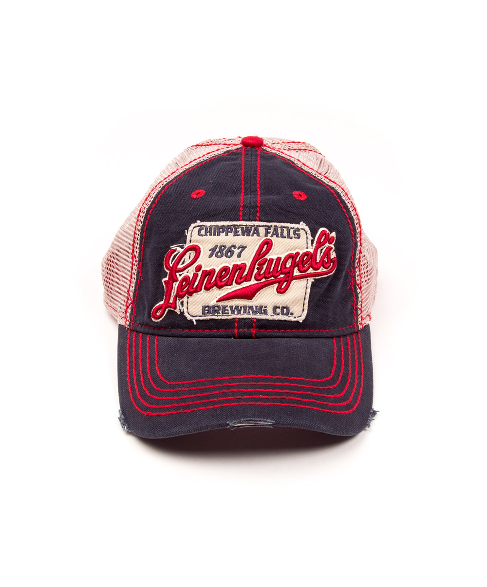 ROAD TRIP NAVY/RED BALL CAP