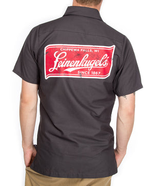 LEINENKUGEL BANNER WORK SHIRT