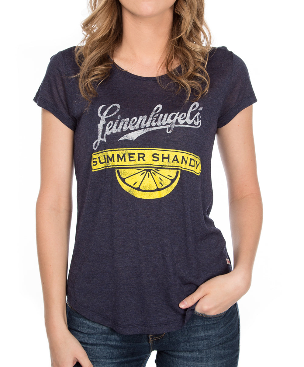 LADIES LEMON SHANDY TEE