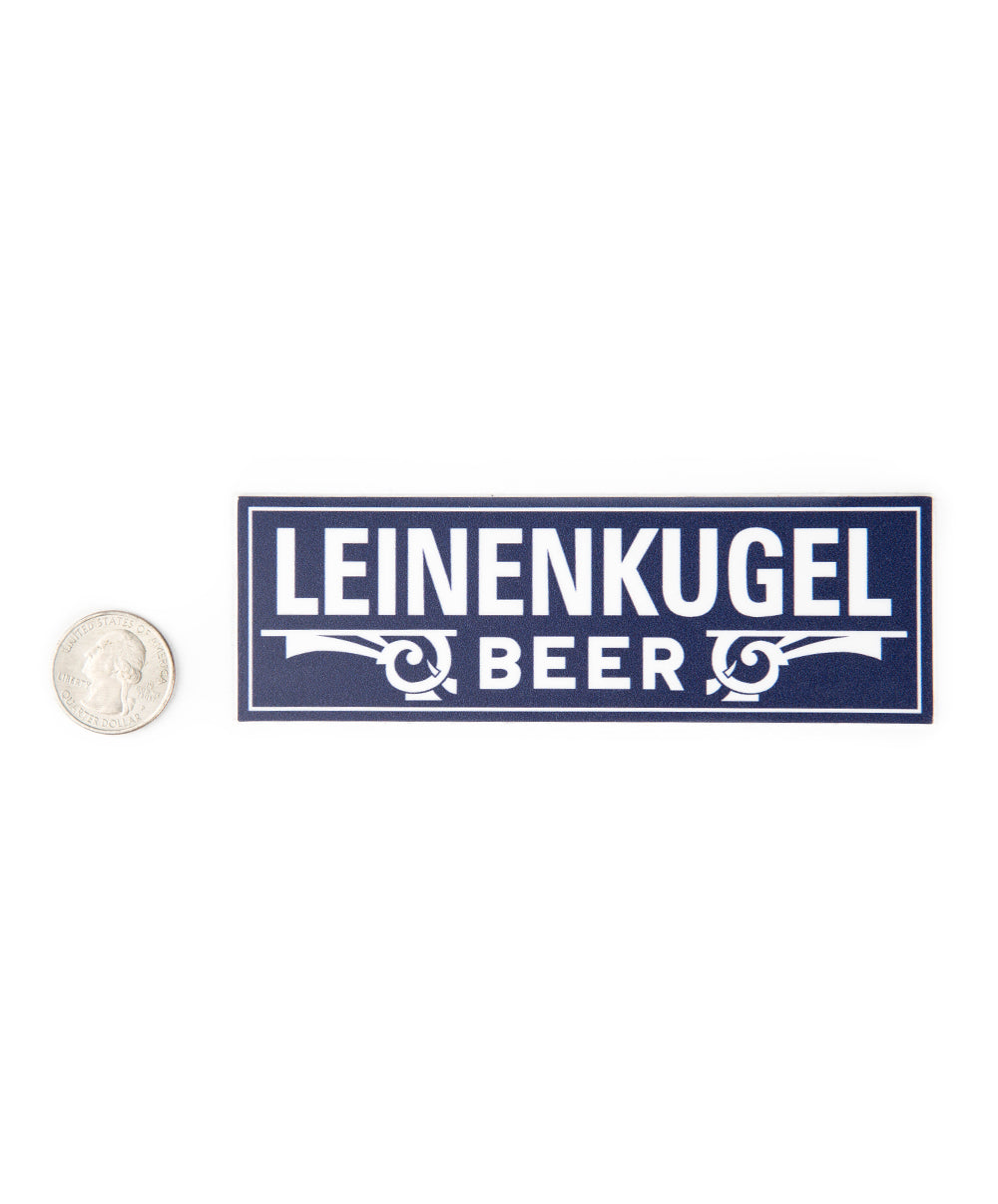 COBALT LEINIE BEER STICKER