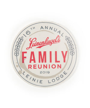 2019 FAMILY REUNION STICKER