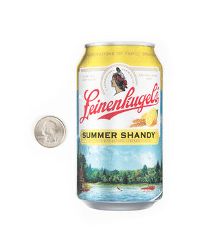 SUMMER SHANDY CAN STICKER