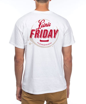 #LEINIEFRIDAY WHITE TEE