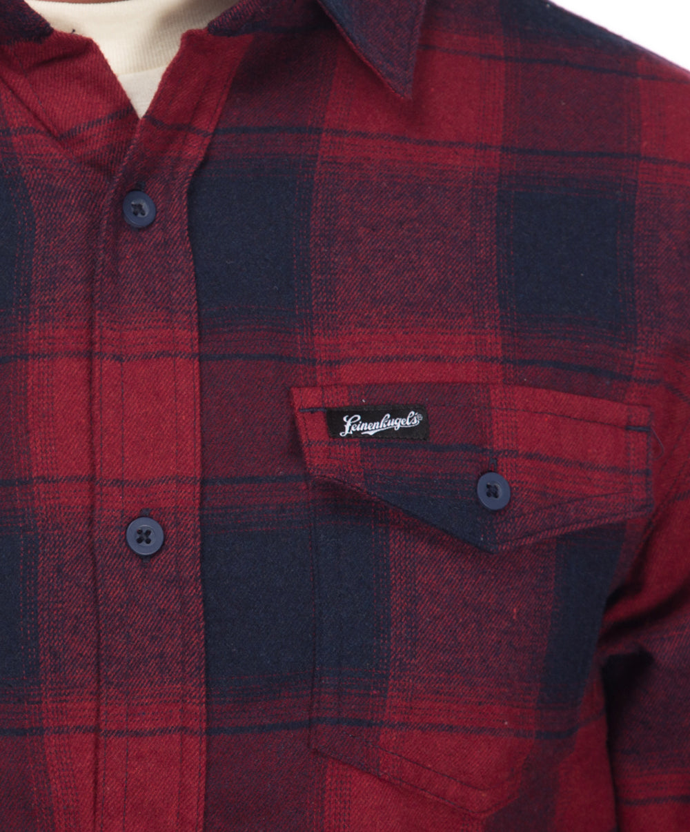 SULLY BUTTON FLANNEL SHIRT