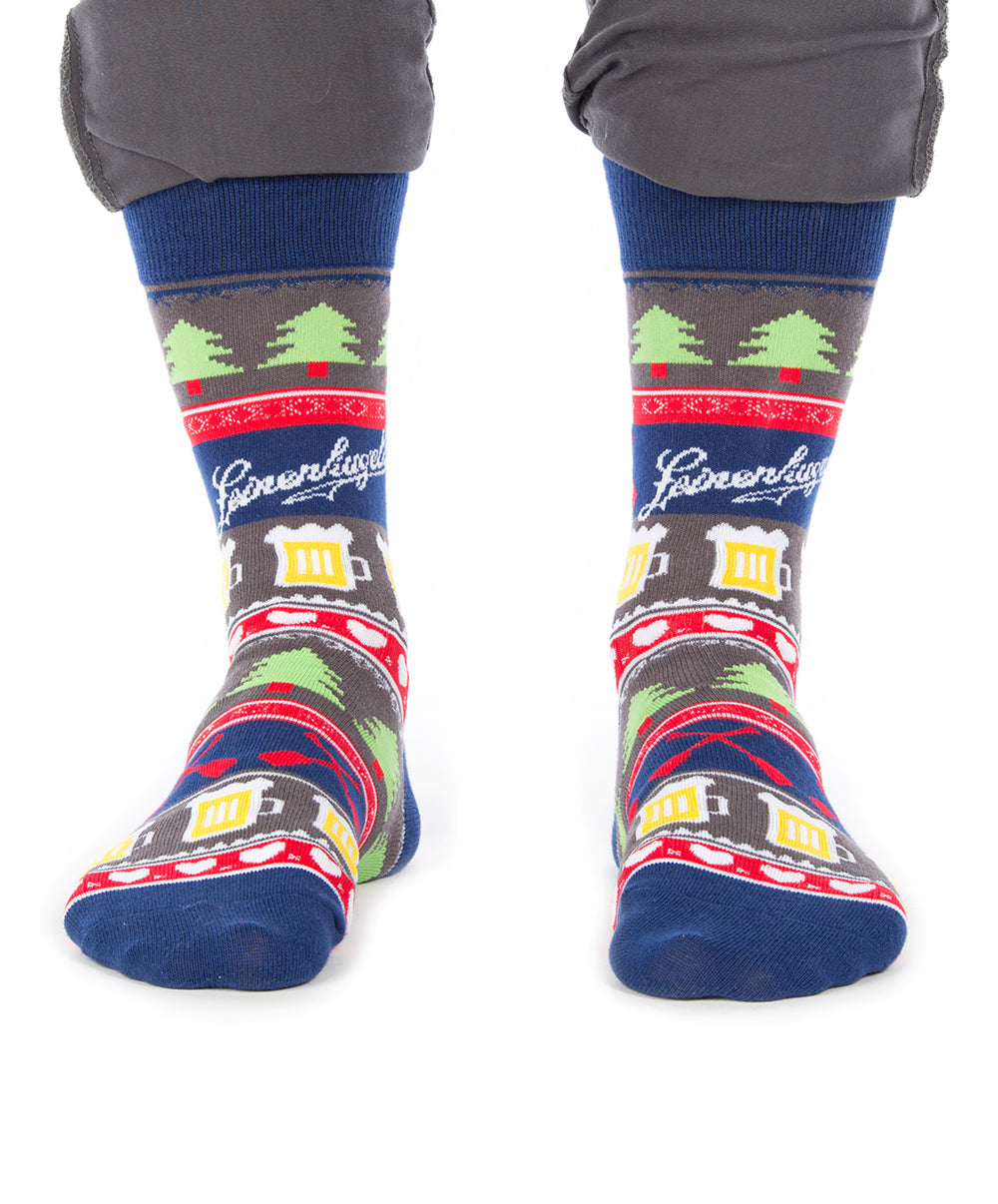 SWEATER BEER SOCKS