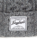 PIERS CABLE KNIT BEANIE