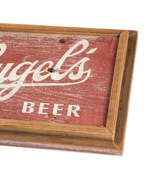 "7"" X 16"" STABLE BARNWOOD SIGN"