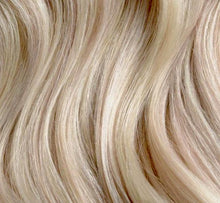 Load image into Gallery viewer, Silver (Ash) Blonde #100 Deluxe Clip-in hair extensions